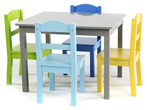 Tot Tutors TC451 Table chair, Grey/Blue/Green/Yellow