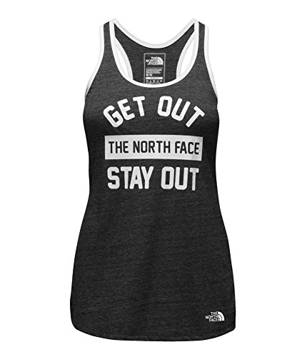 's Play Hard TNF Black Polyester Tank Top M (Shaped Hard Top)
