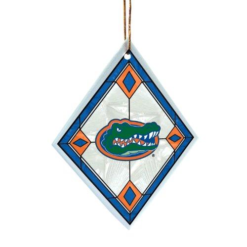 - NCAA Florida Gators Art Glass Ornament