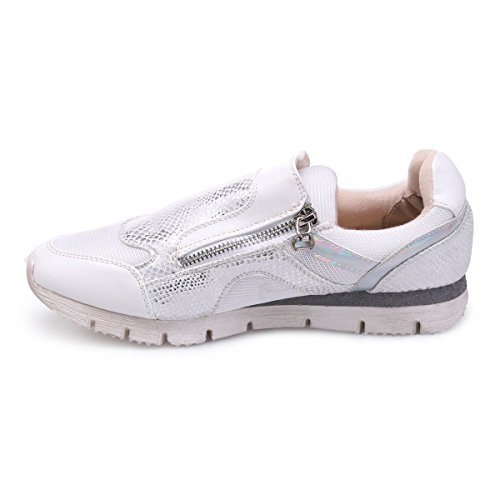 Basses Type La Running Blanc Baskets Modeuse EqEfnHc17