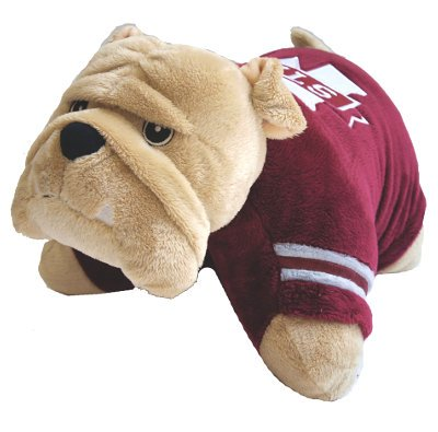 Fabrique Innovations NCAA Pillow Pet, Mississippi State -