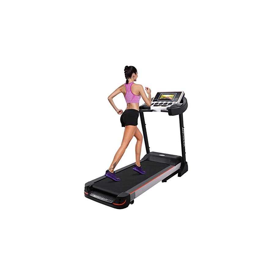 10.1 Inch WIFI Large Color Touch Screen 3.0 HP Folding Treadmill Z5500 Health Fitness Training Equipment