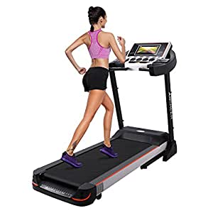 "ANCHEER S6200 Folding Electric Treadmill (10.1"" Web-enabled Color Touch Screen)"