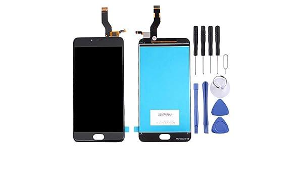 PANTALLA LCD Parte DE REEMPLAZO DE TELEFONO MOVIL CNH Meizu M3 Note/Meilan Note 3 (versión Internacional) L681H y ensamblaje Completo del digitalizador (Negro) (Color : Black): Amazon.es: Electrónica