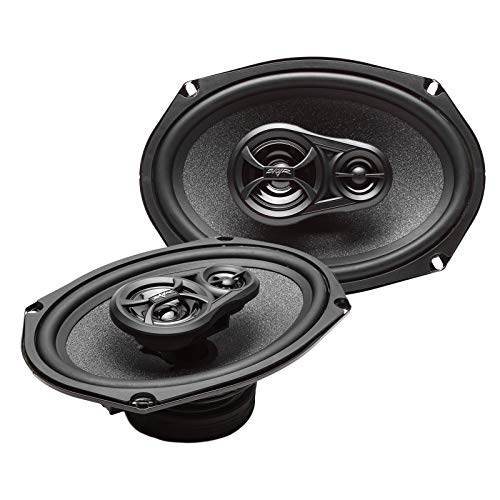 Skar Audio RPX69 6-Inch x 9-Inch 3-Way Coaxial Speakers - - 3 6x9 Audio Way Speakers Inch