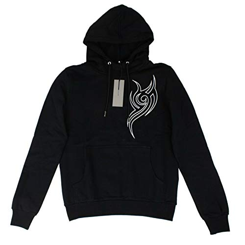 Christian Dior Homme Black Capuche Tribal Pull Over Sweatshirt