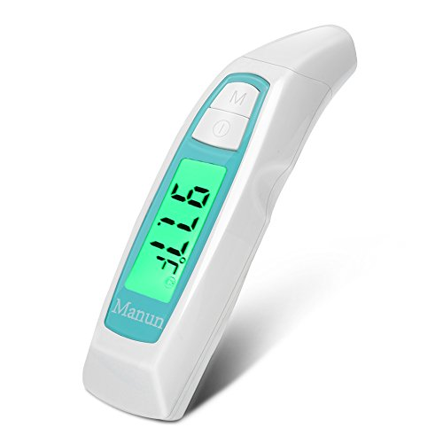 Manun Digital Infrared Forehead & Ear Thermometer Electronic Clinical...