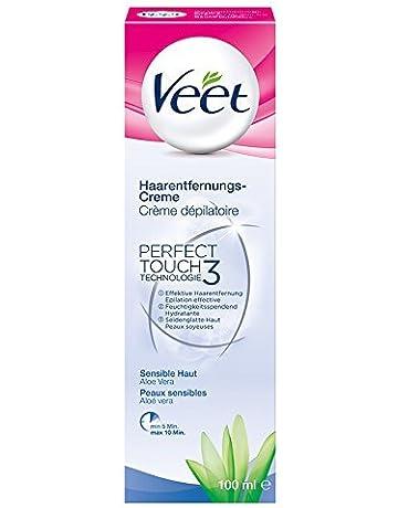 Veet Crema Depilatoria para la piel sensible con Aloe Vera Paquete de 3