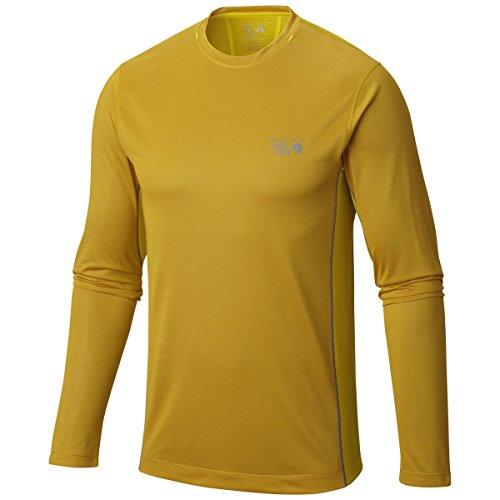 Mountain Hardwear Wicked Lite Long Sleeve T - Men's Inca Gold ()