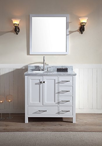 Ariel Cambridge A037S L Wht Bathroom Countertop Explained