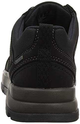 Derby Cordones Un Clarks Atlas Logtx black De Nubuck Para Hombre Zapatos Negro dqAxaYwxX