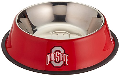Pet Goods NCAA Ohio State Buckeyes Stainless Steel Bowl