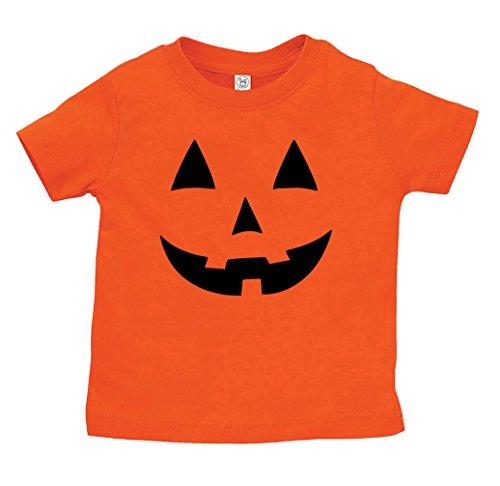 Cute Jack O-lanterns - Jack O' Lantern Youth Halloween Costume Tshirt | Cute Youth Pumpkin Shirt | Funny Youth T-Shirt | Orange | L