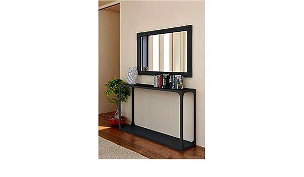 Consola de forja Macarena - Grupo 1 - Blanco Mate, Consola con Medidas de 140x35x85 cm. de Alto.: Amazon.es: Hogar