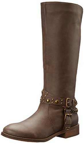 Brown Western Roper Boot Women's Tied wOxqITR
