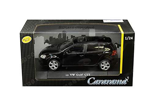 - New DIECAST Toys CAR CARARAMA 1:24 W/B - Volkswagen Golf GTI (Black) 12577
