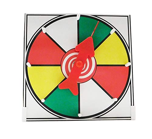 Prize Wheel 12インチ カラーフェイス テーブルトップ ホワイトボード スピナーゲーム B07KY28GPS