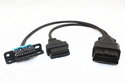 Arteckin Universal OBD II Splitter Extension Y Cable J1962 For GPS Tracking Devices by ARTECKIN