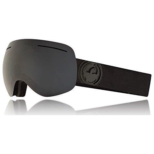 Dragon Alliance X1 Ski Goggles, Black, Large, Knight Rider/Dark Smoke Lens