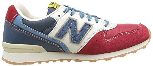 Wr996dj Mujer Zapatillas Rojo Balance Azul New p7qw01S