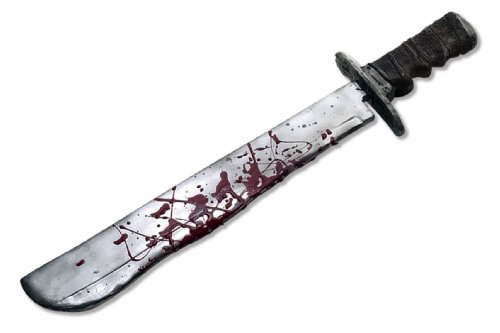 Friday the 13th Jason Deluxe Machete Costume Accessory -