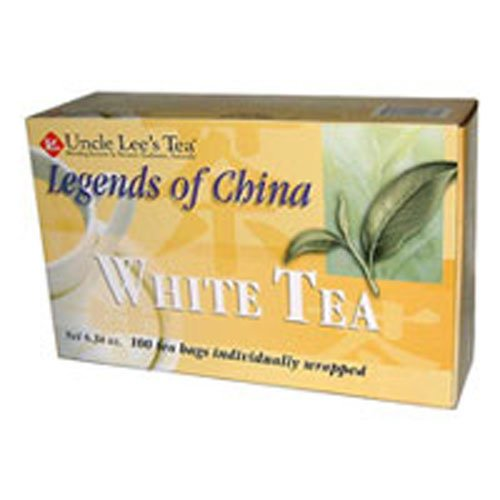(Uncle LeeS Legends Of China White Tea - 100 Tea Bags - -Pack of 3)