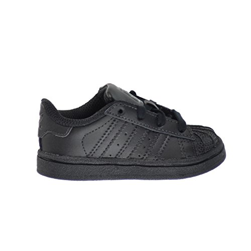 Black Star Shoes - Adidas Superstar I Toddlers Shoes Core Black/Core Black/Core Black d70188 (9 M US)