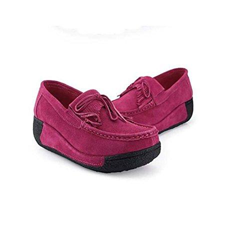 Chaussures automne Saguaro rouges femme YRYzyaaua