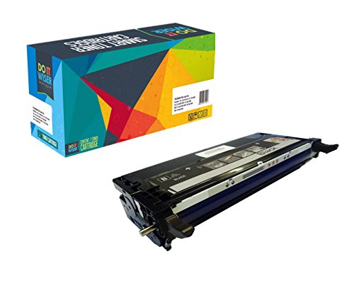 Do it Wiser Compatible High Yield Toner Cartridge Replacement for Dell 3130 3130cn Black
