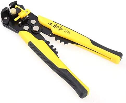 BXKEJI ワイヤーストリッパーケーブルカッター圧着工具圧着工具自動TAB端子圧着ワイヤーストリップ工具