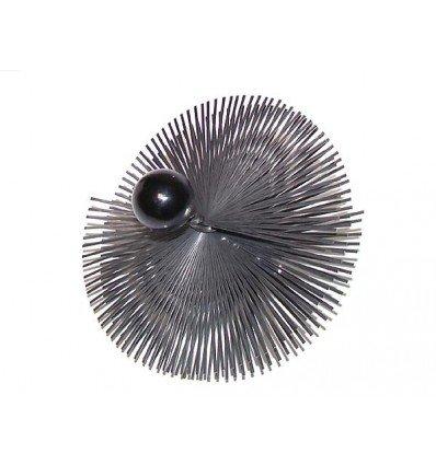 Spazzole - Riccio acciaio temprato a sfera diametro 400mm Expert by Net