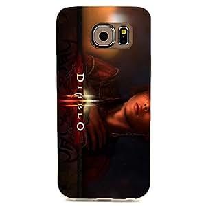 Diablo Vivid Character Poster Hard Protective Case for Samsung Galaxy S6 Edge
