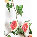 Artfen-Artificial-Rose-Old-Vine-Fake-Rose-Flowers-Garland-Hanging-Baskets-Plants-Home-Outdoor-Wedding-Arch-Garden-Wall-Decor-Champagne-Pink