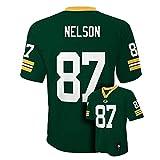 Jordy Nelson Green Bay Packers Green NFL Kids 2013-14 Season Mid-tier Jersey (Kids 5/6)