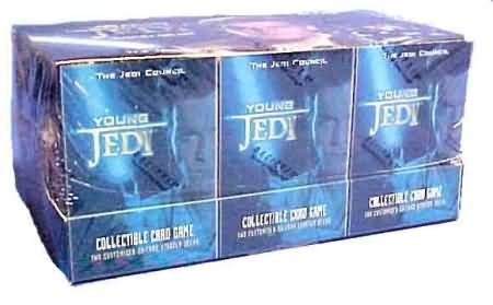 Young Jedi Ccg - Young Jedi CCG: The Jedi Council Sealed Starter Deck Box