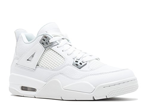 size 40 8a957 546e1 Galleon - AIR Jordan 4 Retro BG (GS)  Pure Money  - 408452-100 - Size 6
