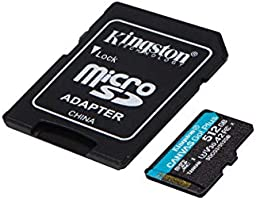 Professional Kingston 512GB for ICEMOBILE Galaxy Prime Extreme MicroSDXC Card Custom Verified by SanFlash. 80MBs Works with Kingston