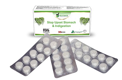 Stop Upset Stomach & Indigestion a Natural Remedy to Relieve Nausea and Stomach-aches, Calm Acid Reflux Decrease Bloating and Stomach Gas a Great Hangover Cure and Constipation Treatment