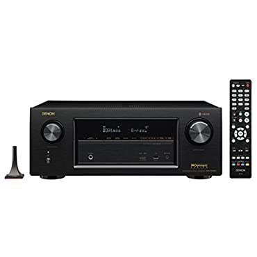 Denon AVR-X3400H 7.2 Channel Full 4K Ultra HD Network AV Receiver with HEOS