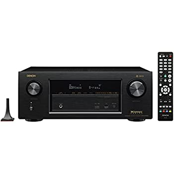 Denon AVRX3400H 7.2 Channel Full 4K Ultra HD Network AV Receiver with HEOS black, Works with Alexa