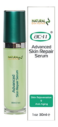 ac-11 Advanced Skin Repair Serum--Best Skin & Facial Moisturizer Serum for Sensitive, Oily or Severely Dry Skin - Anti-Aging, Anti Wrinkles and Dark Spot Removal for Women and Men. by Natural DNA Repair