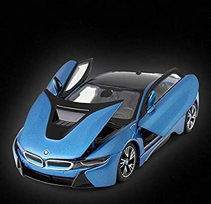 Buy Rastar 1 24 Diecast Bmw I8 Concept Vision Car With Opening Doors