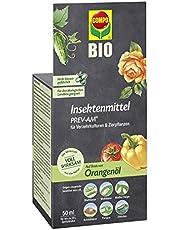 Compo 21776 Insektsmedel PREV-AM, bekämpning av ulllöss och sköldlöss på prydnadsväxter och fruktgrönsaker, 50 ml