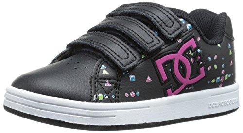 Character Shoe Skate - DC Character V Skate Shoe (Little Kid/Big Kid), Black/Multi/White, 2 M US Little Kid