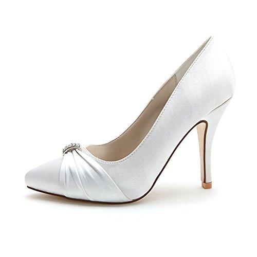 L@YC Talons Hauts Femmes Printemps / éTé / automne Chaussures De Mariage / Ronde 0255-18 SoiréE blue mwLB0xnQJ