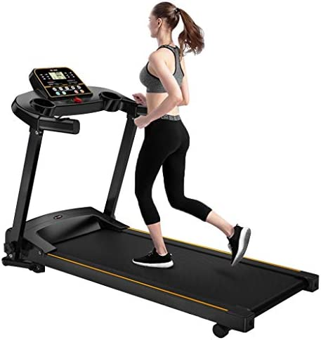 """MENGQIN Home Foldable Running Machine Easy Setup & Storage with LCD Display Screen and 16"""" x 44"""" Walking Surface 2.0HP Running Machine [ U.S. Shipping ] 1"""