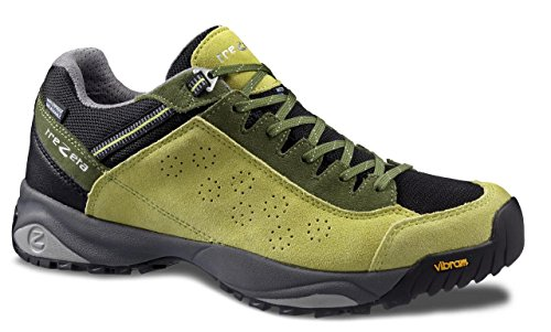 TREZETA Shoes Men Indigo Green-Orange Green-Black