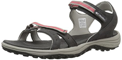 Women's Shark Hiking 011 Sunset Black Santiam Red Sandals Columbia 7THwdqH