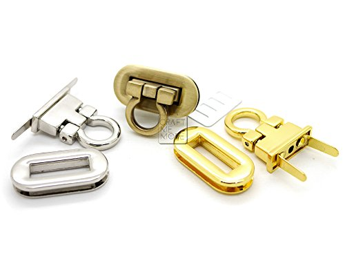Turn Lock Bag Clasp - 8