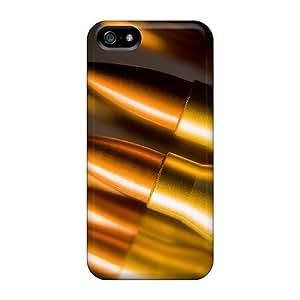 NadaAlarjane-051201 Iphone 5/5s Hybrid Tpu Case Cover Silicon Bumper Ammunition